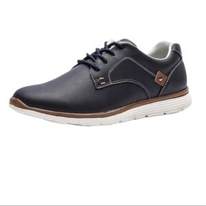 Lingge Casual Lightweight Lace-up Shoes